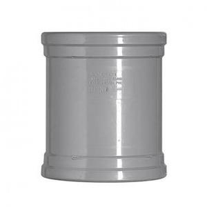 Martens Pvc overschuifmof grijs 40mm
