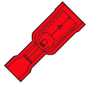 Klemko SP1504HO RONDSTIFTH 0,75-1,5 ROOD