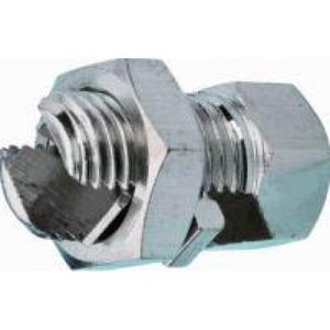 JMV aansluitklem aardelektrode 35-35mm Messing 9200029
