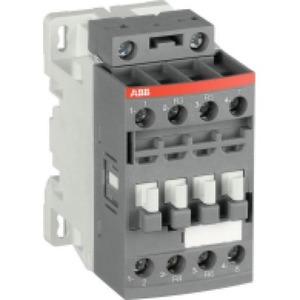 ABB Magneetsch. 4kW 400V 4P (2NO+2NC) Met laag spoelvermogen, v PLC aanst