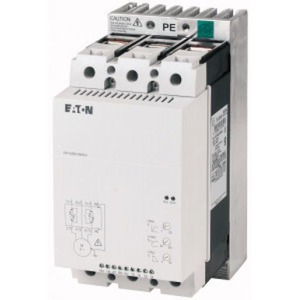 Eaton SOFTSTARTER 200-480VAC(50/60HZ), 24VAC/DC STUURSPANNING 75KW 135A