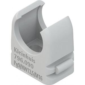 Niedax Kabelbuisklem 10-11mm kunststof 559103