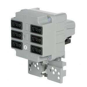ABB Kabeldoos met 3-fase connector en 6xgst18