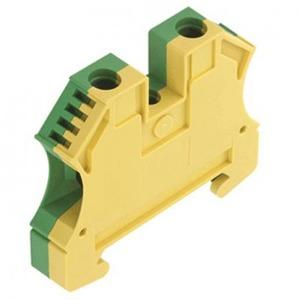Weidmuller W-serie aardrijgklem 1,5-10mm Groen/geel 1010300000