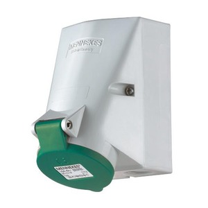 Mennekes WCD 32A 4P 2H >50V 300-500HZ IP44 TWIN