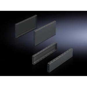 Rittal TS Sokkel zijkant 100x400 RAL7022 VE=2