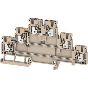 Weidmuller MULTI-TIER MODULAR TERMINAL, PUSH IN, 2.5MM2, 8V, 21A, NUMBER OF LE