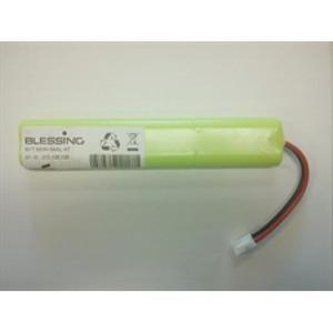 Eaton Blessing Batterijen voor armaturen, blok van 2x3 cellen, 1,1Ah