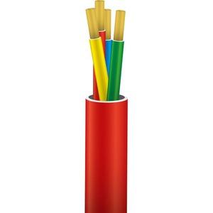 Nexans 2yh mbzh signaalkabel 4x0,8mm rood 10190516