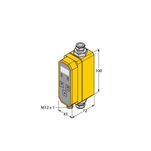 Turck FLOW RATE MEASUREMENT INLINE SENSOR WITH INTEGRATED PROCESSOR