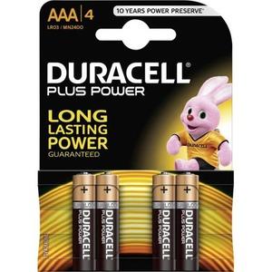 Duracell MN2400 AAA POTL.CEL ALK BL4