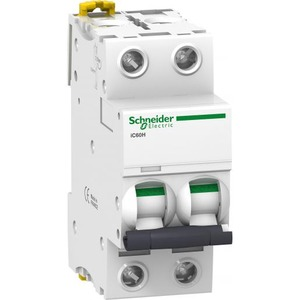 Schneider Electric Acti 9 Installatieautomaat C karakteristiek 16A 2p 2TE A9F89216