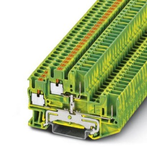 Phoenix Contact PTTB aardrijgklem 0,14-2,5mm Groen/geel 3210897