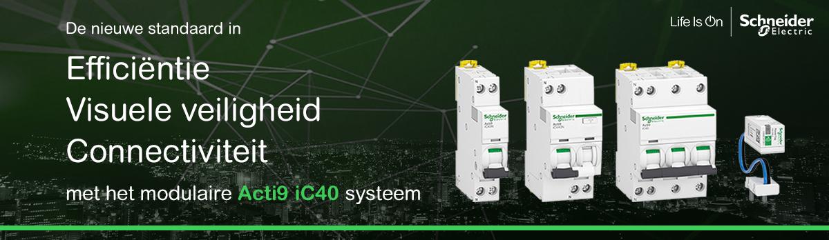 Acti9 IC40: De meest innovatieve reeks installatieautomaten